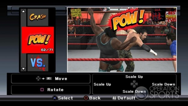 WWE Smackdown! vs. Raw 2009 Screenshot #37 for PS3