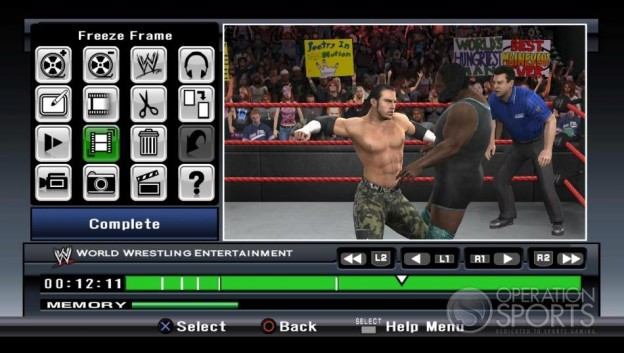 WWE Smackdown! vs. Raw 2009 Screenshot #22 for Xbox 360
