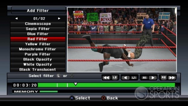 WWE Smackdown! vs. Raw 2009 Screenshot #23 for Xbox 360