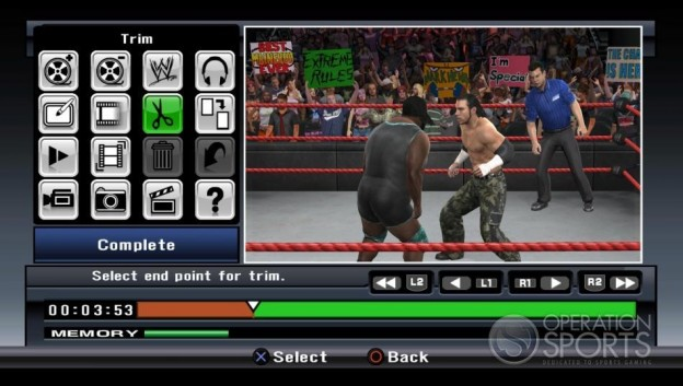 WWE Smackdown! vs. Raw 2009 Screenshot #25 for Xbox 360