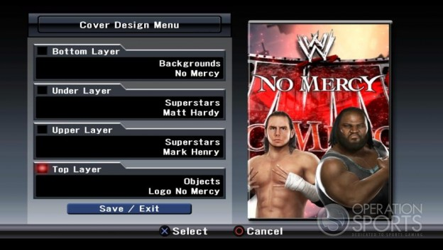 WWE Smackdown! vs. Raw 2009 Screenshot #30 for Xbox 360