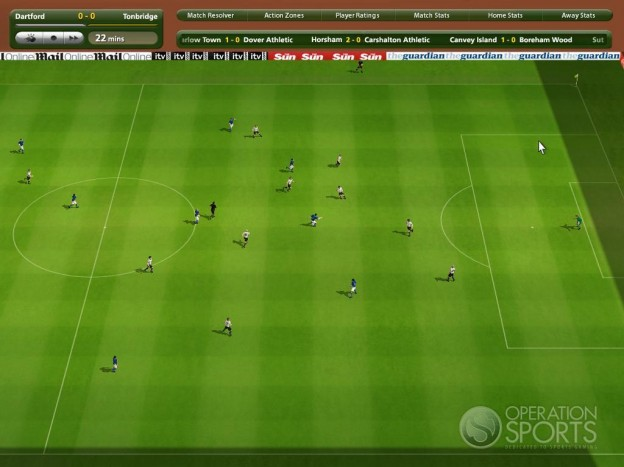 Championship Manager 2009 Screenshot #2 for PC
