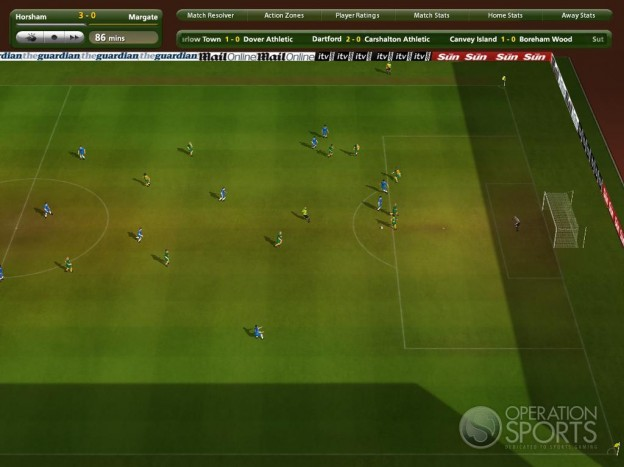 Championship Manager 2009 Screenshot #3 for PC