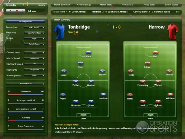 Championship Manager 2009 Screenshot #4 for PC