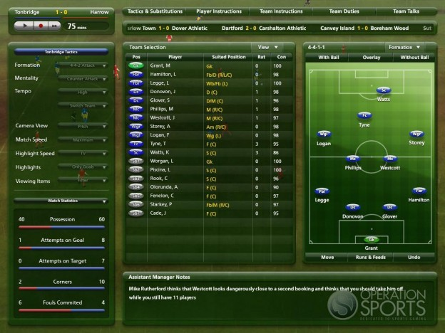 Championship Manager 2009 Screenshot #5 for PC