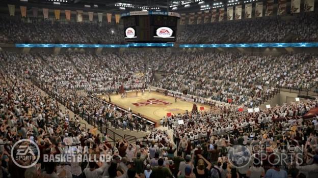 NCAA Basketball 09 Screenshot #21 for Xbox 360