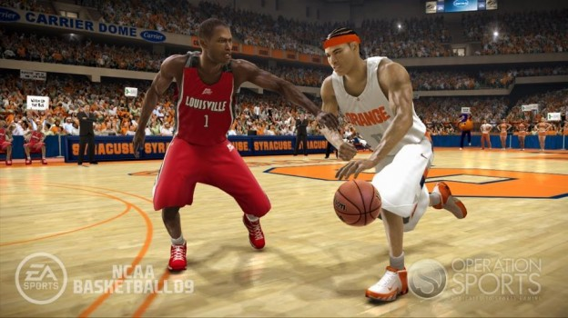 NCAA Basketball 09 Screenshot #22 for Xbox 360