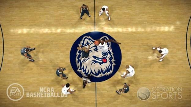 NCAA Basketball 09 Screenshot #26 for Xbox 360