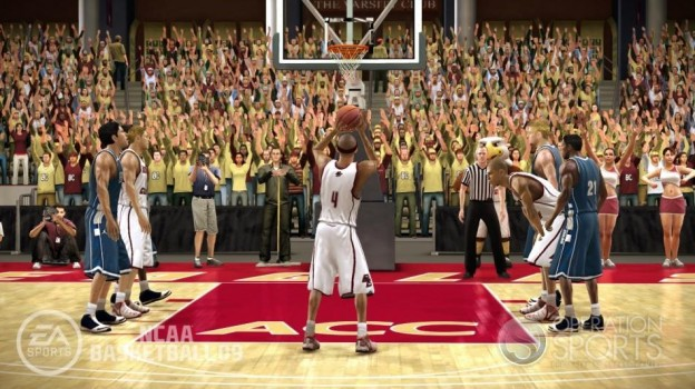NCAA Basketball 09 Screenshot #28 for Xbox 360