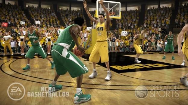 NCAA Basketball 09 Screenshot #30 for Xbox 360