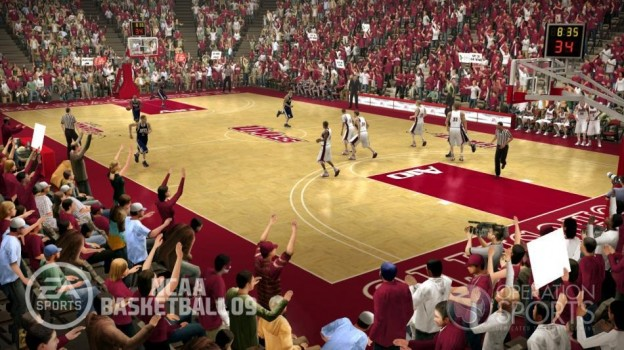 NCAA Basketball 09 Screenshot #32 for Xbox 360