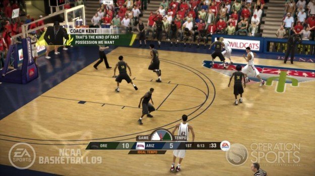 NCAA Basketball 09 Screenshot #33 for Xbox 360