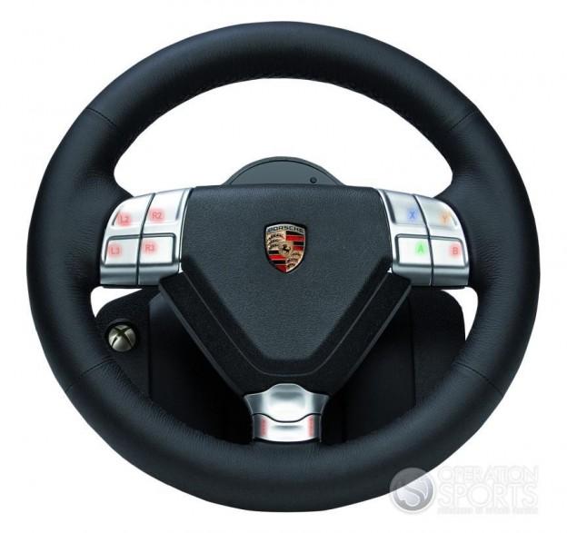Porsche 911 Turbo Racing Wheel Screenshot #1 for Xbox 360