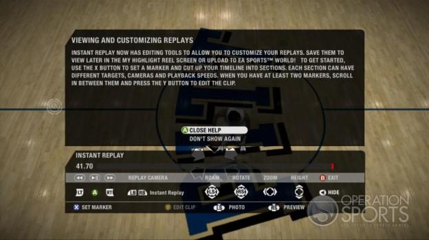 NCAA Basketball 09 Screenshot #34 for Xbox 360