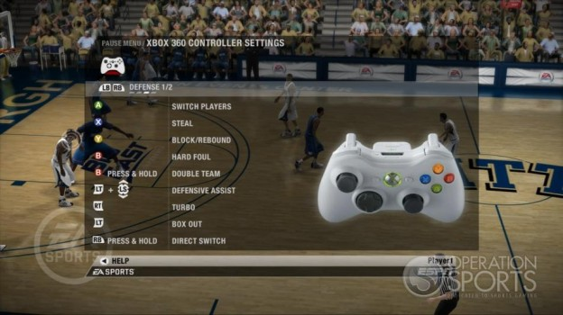 NCAA Basketball 09 Screenshot #37 for Xbox 360
