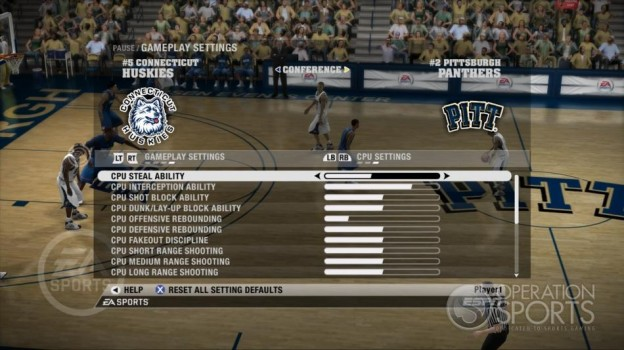 NCAA Basketball 09 Screenshot #43 for Xbox 360