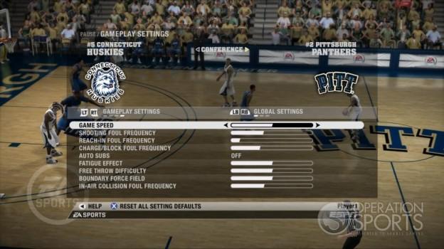 NCAA Basketball 09 Screenshot #46 for Xbox 360