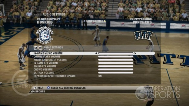 NCAA Basketball 09 Screenshot #47 for Xbox 360