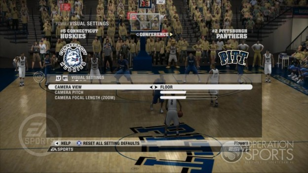 NCAA Basketball 09 Screenshot #48 for Xbox 360