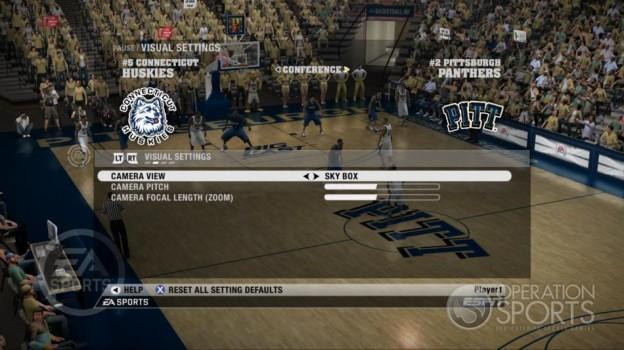 NCAA Basketball 09 Screenshot #49 for Xbox 360