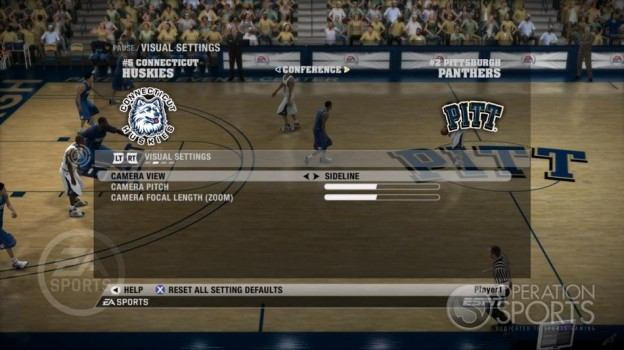NCAA Basketball 09 Screenshot #50 for Xbox 360