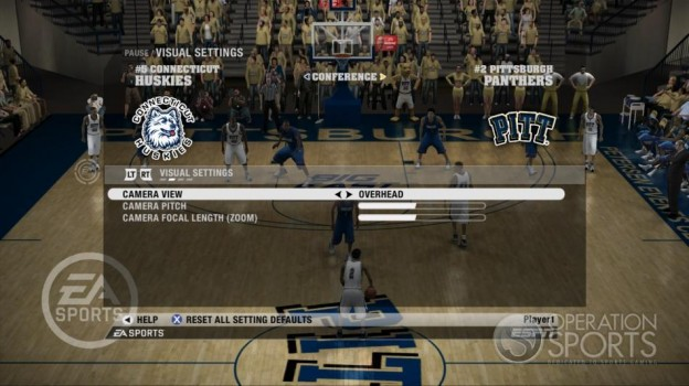 NCAA Basketball 09 Screenshot #51 for Xbox 360