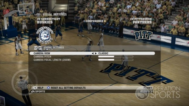 NCAA Basketball 09 Screenshot #52 for Xbox 360