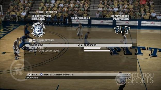 NCAA Basketball 09 Screenshot #53 for Xbox 360