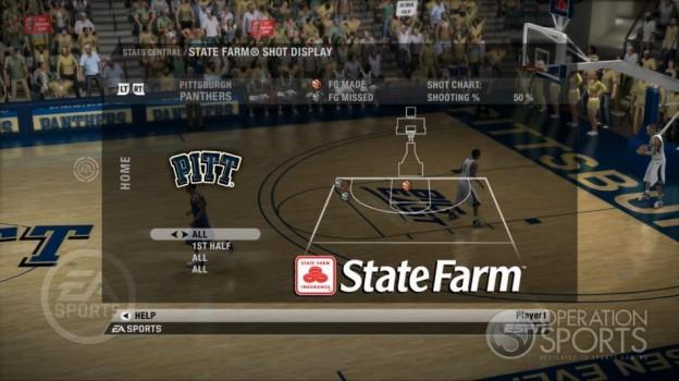 NCAA Basketball 09 Screenshot #54 for Xbox 360