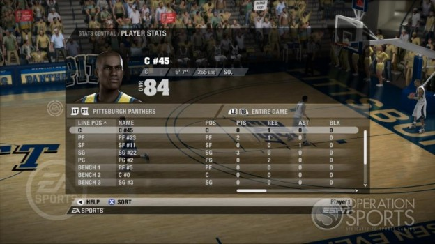 NCAA Basketball 09 Screenshot #56 for Xbox 360