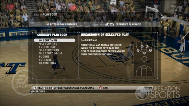 NCAA Basketball 09 Screenshot #57 for Xbox 360