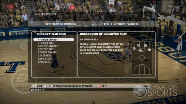 NCAA Basketball 09 Screenshot #58 for Xbox 360