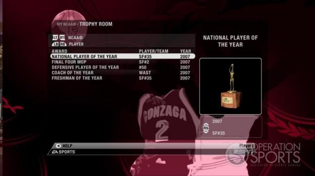 NCAA Basketball 09 Screenshot #61 for Xbox 360