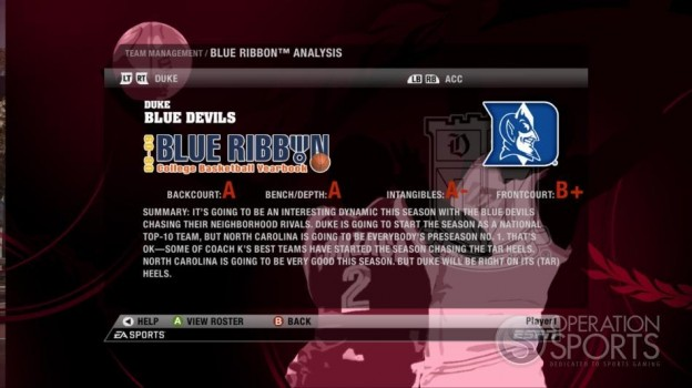 NCAA Basketball 09 Screenshot #63 for Xbox 360