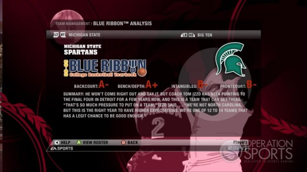 NCAA Basketball 09 Screenshot #65 for Xbox 360