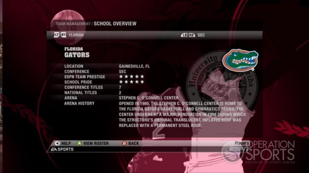 NCAA Basketball 09 Screenshot #71 for Xbox 360