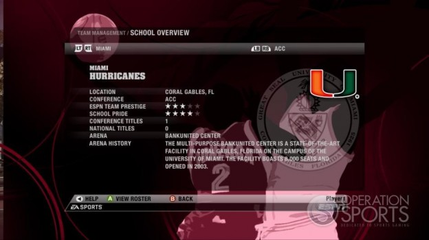 NCAA Basketball 09 Screenshot #74 for Xbox 360