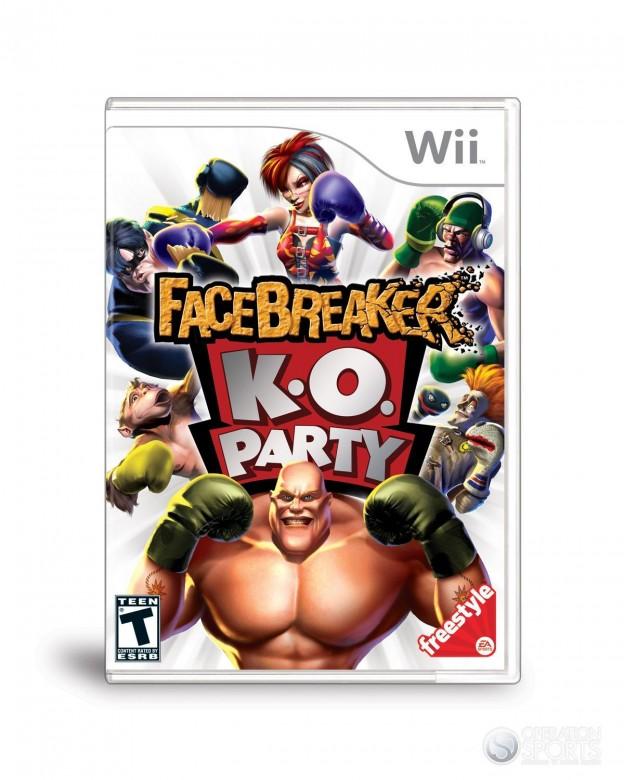 FaceBreaker K.O. Party Screenshot #1 for Wii