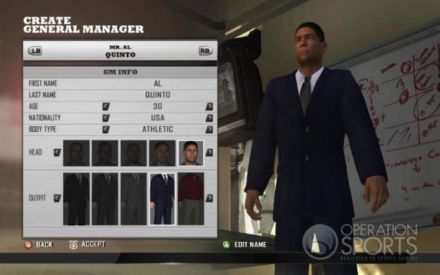 MLB Front Office Manager Screenshot #3 for Xbox 360