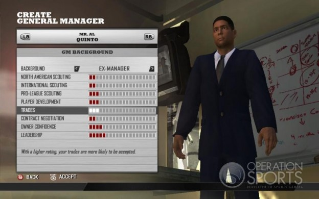 MLB Front Office Manager Screenshot #4 for Xbox 360