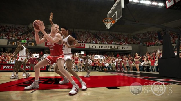 NCAA Basketball 09 Screenshot #87 for Xbox 360