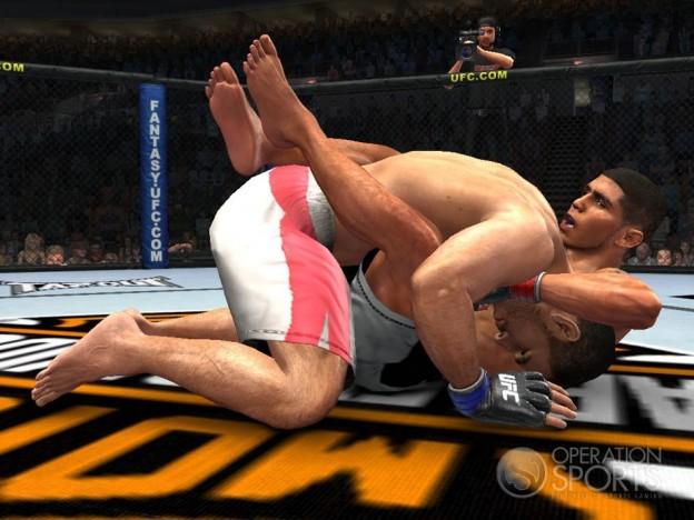 UFC 2009 Undisputed Screenshot #2 for Xbox 360