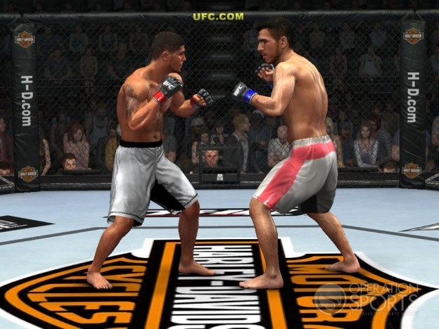 UFC 2009 Undisputed Screenshot #3 for Xbox 360