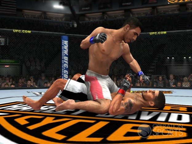 UFC 2009 Undisputed Screenshot #4 for Xbox 360