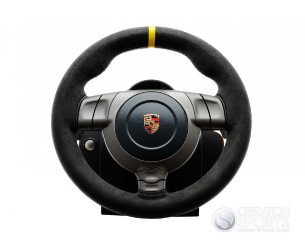 Porsche 911 GT3 RS Racing Wheel Screenshot #3 for PS3