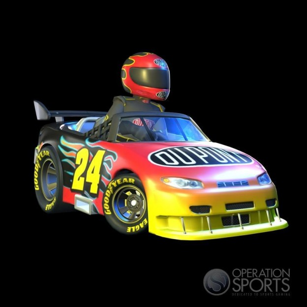 NASCAR Kart Racing Screenshot #6 for Wii