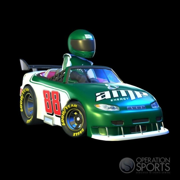 NASCAR Kart Racing Screenshot #11 for Wii