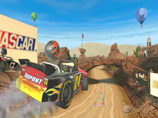 NASCAR Kart Racing Screenshot #17 for Wii
