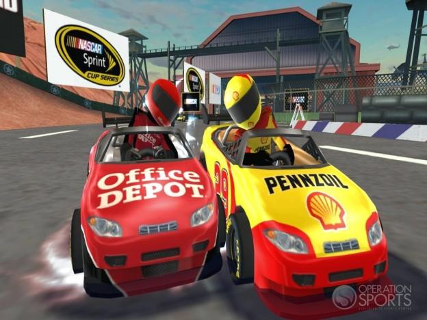 NASCAR Kart Racing Screenshot #18 for Wii