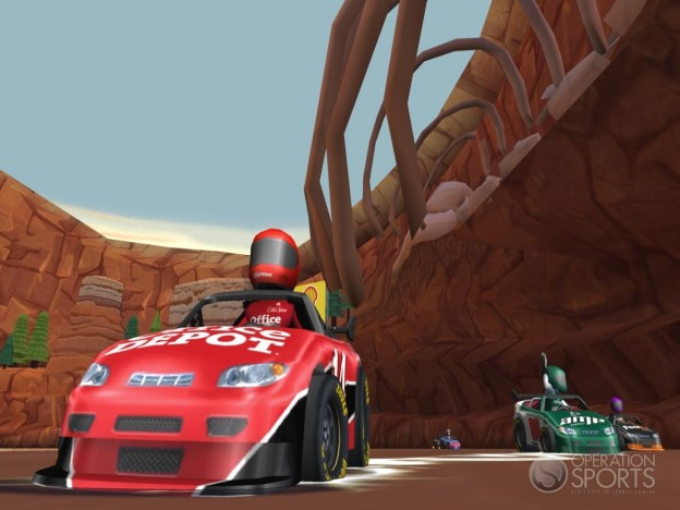 NASCAR Kart Racing Screenshot #19 for Wii